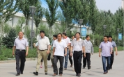 内蒙古自治区环境保护厅领导到内蒙公司调研考察